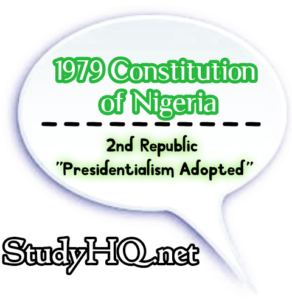 1979 Constitution of Nigeria