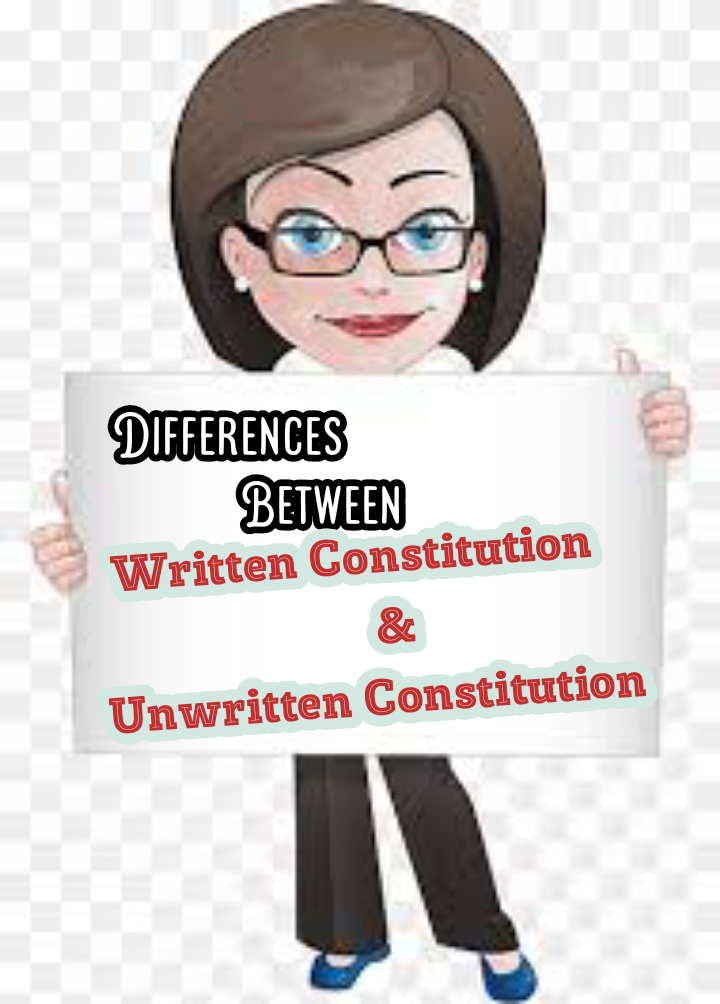 Differences Between Written and Unwritten Constitution
