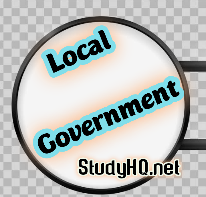 Control Of Local Government