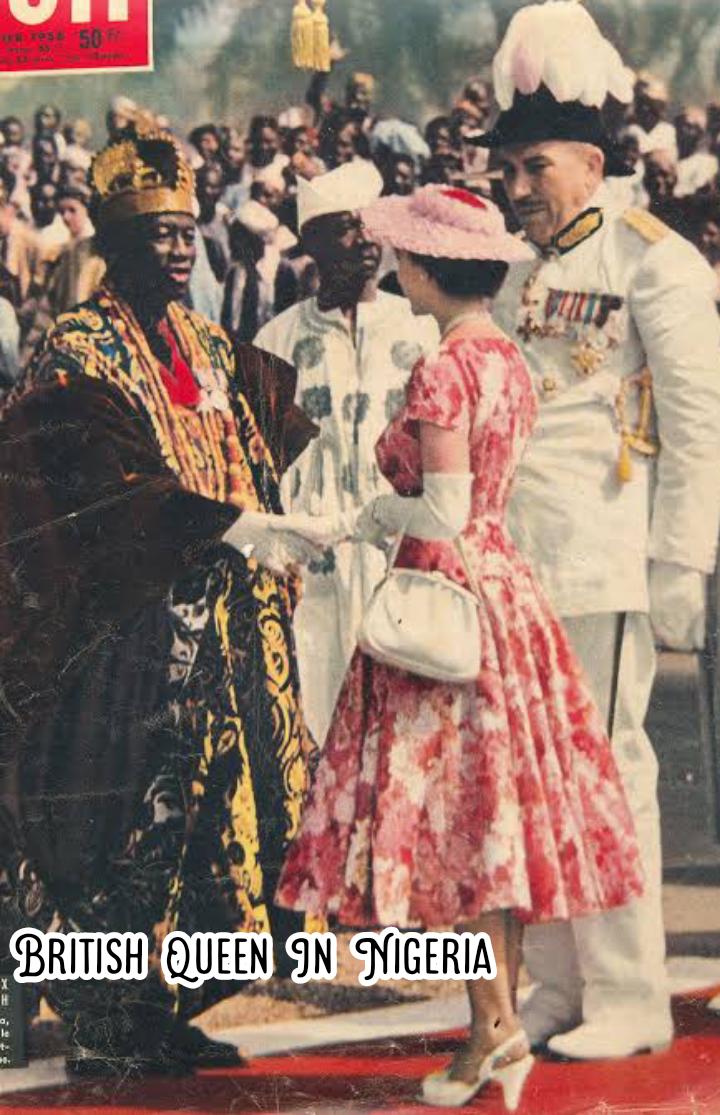 Queen Elizabeth II - Lagos, Nigeria