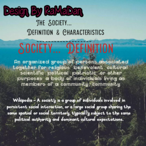 Society – Definition, Features & Examples (Government)